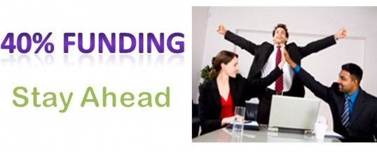 SME in Nottinghamshire, Derbyshire or Chesterfield?  40% of your training costs reimbursed…..