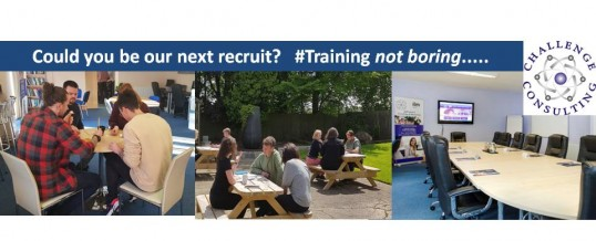 Could you be our next Recruit? Management / Leadership Training Consultant (Part-time)