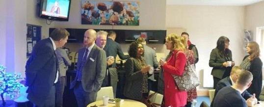 We're now the proud hosts of FSB Connect Nottingham Networking
